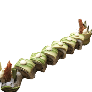 Foto Tempura Dragon Roll